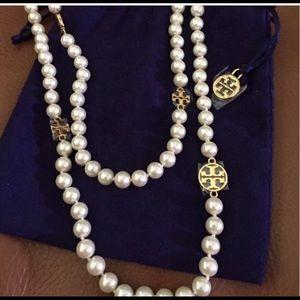 Tori Burch Pearl Necklace